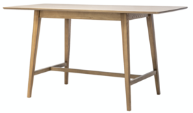ARCO FIXED TOP LEANER - NATURAL ASH