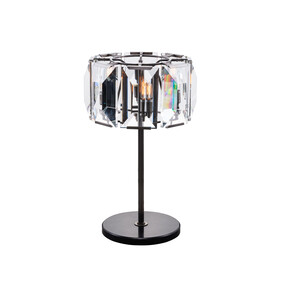 HALO FACET CRYSTAL TABLE LAMP - CRYSTAL