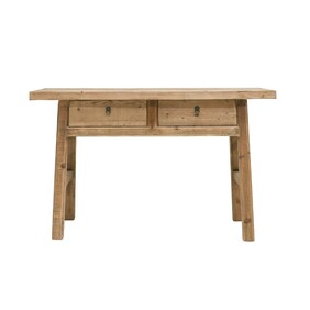 PEASANT 2 DRAWER CONSOLE