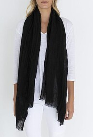 LUXE SCARF - BLACK