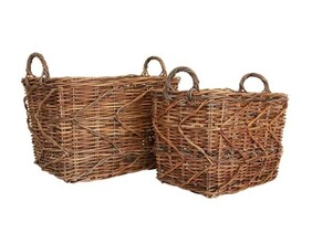 RUSTIC STORY'S BASKET - 2 SIZES