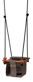 SOLVEJ BABY/TODDLER SWING - CLASSIC TAUPE