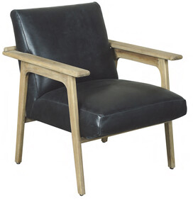 ARTWOOD CROMWELL ARMCHAIR - LEATHER