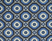FORNILLO EMBROIDERY - MOSAIC BLUE