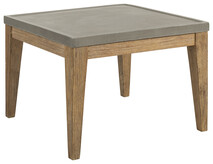 ARTWOOD DACOTA OUTDOOR CONCRETE SIDE TABLE