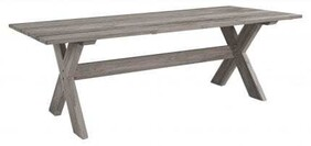 ARTWOOD CROSS OUTDOOR DINING TABLE