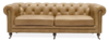 OXFORD CHESTERFIELD SOFA THREE SEATER - CAMEL