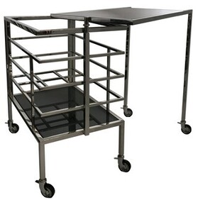 INDUSTRIAL COCKTAIL TROLLEY