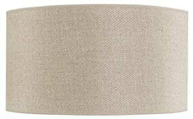 ARTWOOD CYLINDER LAMPSHADE - LINEN