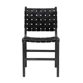 BACCO DINING CHAIR - BLACK OUT