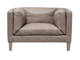 HALO SPENCER SINGLE SEATER - HAND TIPPED TAUPE