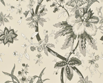 YARMOUTH FLORAL - PEWTER