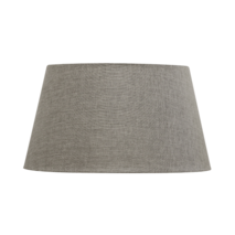 TAPERED DRUM LAMPSHADE - CHARCOAL