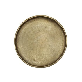 HANDFORGED BRASS PLATE - LARGE