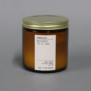 AMBERJACK LARGE CANDLE - WHISKEY IN A JAR