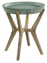 ARTWOOD TONGA OUTDOOR CONCRETE SIDE TABLE