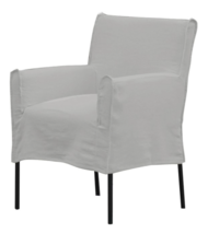 MONTE DINING CHAIR - PASTEL GREY