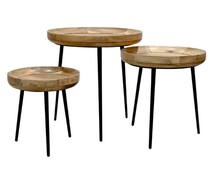 NARVIK SIDE TABLE TRIO