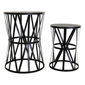 KARLY SET OF 2 SIDE TABLES