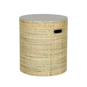 PACY ROUND SIDE TABLE
