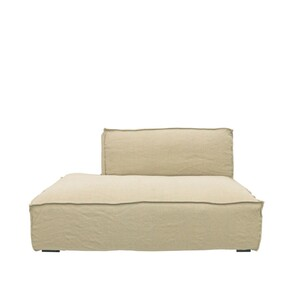 MADELINE MODULAR CHAISE - NATURAL