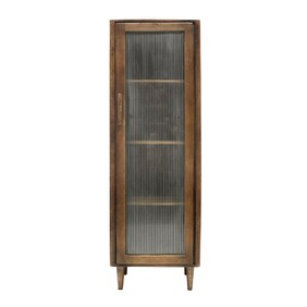 MONICA DISPLAY CABINET TALL - NATURAL
