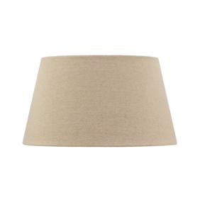 LINEN TAPERED DRUM SHADE - RAW