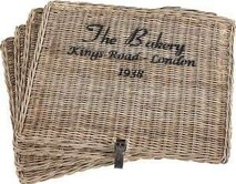 ARTWOOD THE BAKERY PLACEMATS - SET OF FOUR