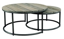 ARTWOOD ANSON OUTDOOR COFFEE TABLE - SET OF 2