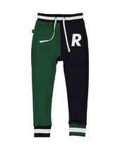 DUDE PANT IN NAVY & GREEN