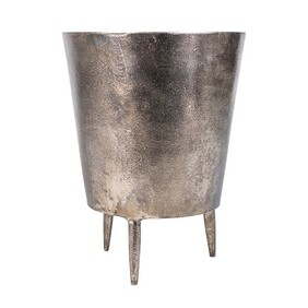 BRONZE POT WITH LEGS - LARGE