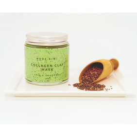 Nude Kiwi Collagen Clay Mask