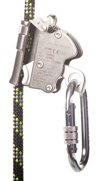 GUIDED ROPE FALL ARRESTER - FLEXIGLIDE