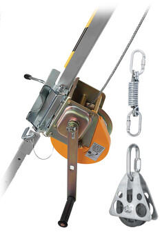 20M/25M WINCH WITH PULLEY AND MOUNTING BRACKET - DESCEND