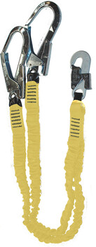 DOUBLE LANYARD - INTEGRA PRO - WITH SCAFFOLD HOOKS AND SNAPHOOK