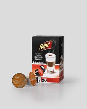 Rene - Latte Macchiato Caramel x 16 Pods