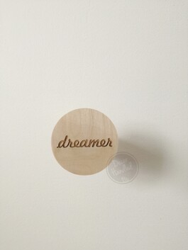 dreamer Wall Handle (Screw in or Removable)