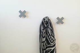 Cross Mini Wall Handle (Screw-in or Removable)