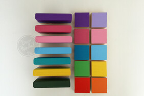 Brights Colour Chart for Decor Wooden Cameras
