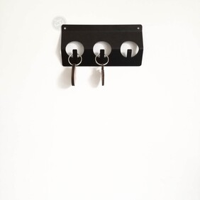 Minimalist Key Hanger - 2 sizes now available to choose from