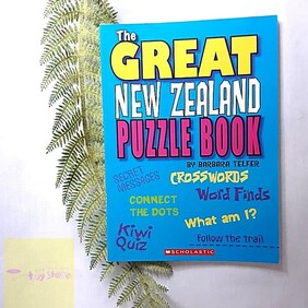 The Great New Zealand Puzzle Book