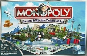 New Zealand Monopoly Here and Now Edition