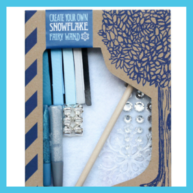 Create your own Snowflake Fairy Wand Craft Kit