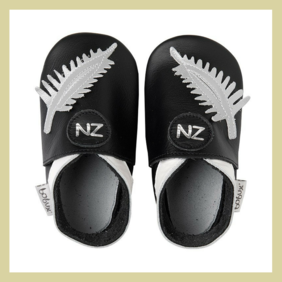 NZ Silver Fern Leather Shoes - Bobux