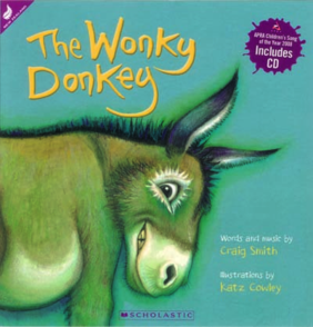 The Wonky Donkey CD and Book