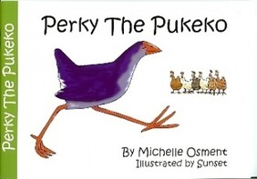 Perky the Pukeko By Michelle Osment