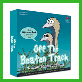 Off the Beaten Track Extension Game for The Amazing Moa Hunt