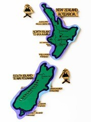 Magnetic New Zealand Puzzle