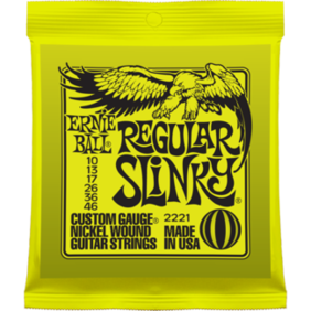 Ernie Ball Electric Guitar Strings - Range of Gauges Available