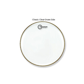 Aquarian Classic Clear Single Ply Snare Drum - Bottom Head